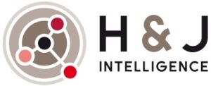 Logo de H&J Intelligence avec Marie-Laure Jourdainne - Innovation Scientifique - Direction Scientifique - Conseil Startup